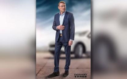 Mika Häkkinen brend amabasador Nokian Tyres