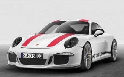 Procurile prve fotografije Porschea 911 R