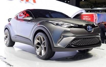 Toyota za tržište Evrope potvrdila novi crossover na bazi koncepta C-HR