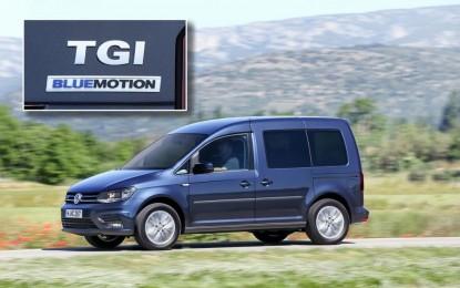 Volkswagen Caddy – jedinstvena kombinacija: CNG i DSG