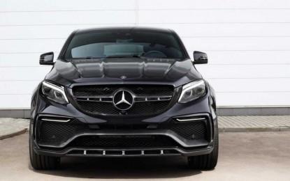 Rusi preradili Mercedes-Benz GLE Coupe i pretvorili ga u crnog monstruma