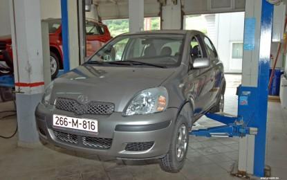 Održavanje polovne Toyote Yaris 1.0 16v i 1.3 16v (1999.-2005.)