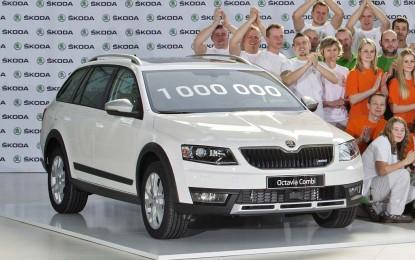 Do sad proizvedeno milion Škoda Octavija treće generacije