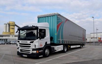 Scania, Audi i Ihro: zajednički projekt – kamion na plin