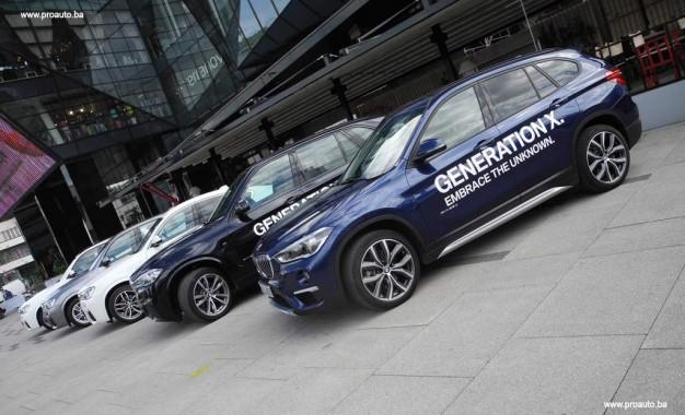 Svi BMW-ovi X modeli u Sarajevu [Galerija]