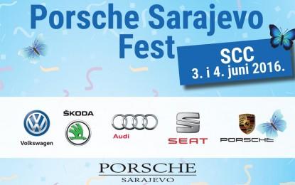 Manifestacija Porsche Sarajevo Fest u Sarajevu