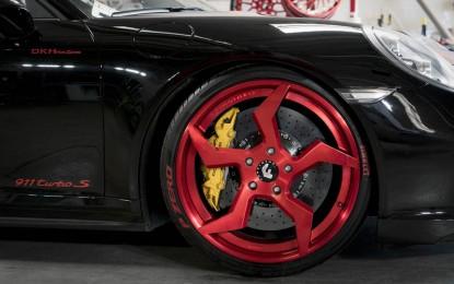 """Porsche 911 Turbo S Cabriolet u Forgiatovom """"Ninja stilu"""""""