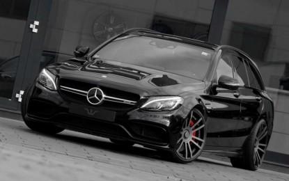 Mercedes-AMG C63 Estate Wheelsandmore je karavan iz snova