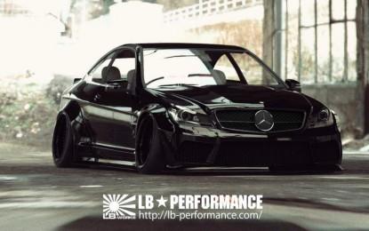 Liberty Walk kreirao novi paket dodataka za moćnog Mercedesa C63 AMG Coupea