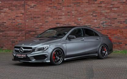 Mercedes-AMG CLA 45 pojačan u Schmidt Revolutionu
