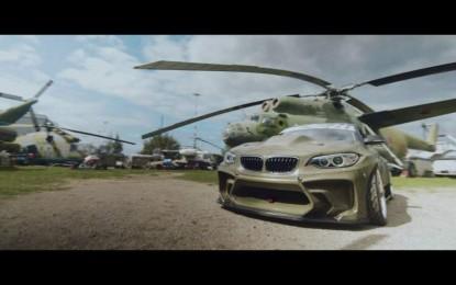 BMW M2 sa ogromnim motorom iz Chevroleta postao je sasvim drugačiji auto [Video]