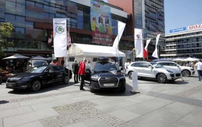 Porsche Sarajevo Fest ispred BBI centra