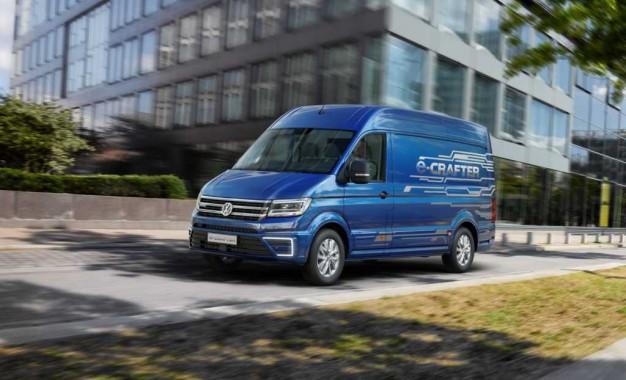 Električni Volkswagen e-Crafter otkriven u Hannoveru