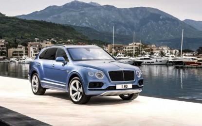 Bentley otkrio prvi dizelski auto svih vremena – Bentyaga TDI
