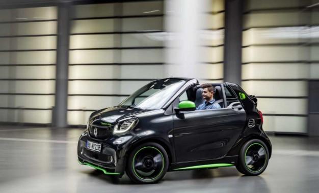 Smartova gama električnih auta perfektna za korištenje u gradu