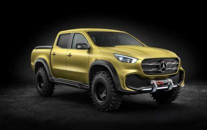 Mercedes-Benz otkrio atraktivnu X-klasu koncept