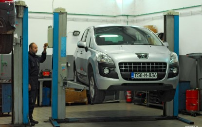 Održavanje polovnog Peugeota 3008 1.6 HDi 16v i 1.6 HDi 8v (2008.-2015.)