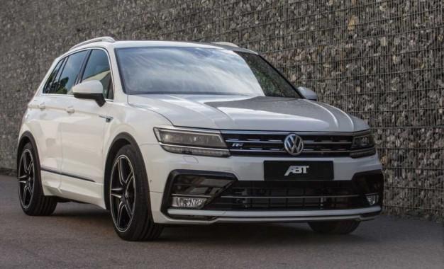 Abt Sportsline preradio Volkswagena Tiguana