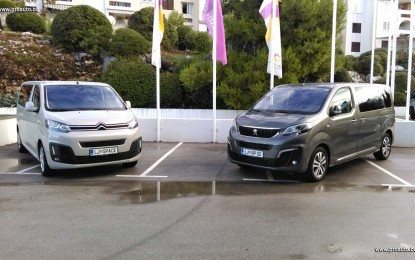 Vozili smo Citroen Spacetourer i Peugeot Traveller [Galerija i Video]