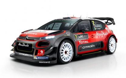 Predstavljen Citroen C3 WRC za narednu sezonu [Video i Galerija]