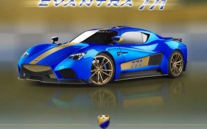 Mazzanti Evantra 771 nova verzija novog italijanskog superauta