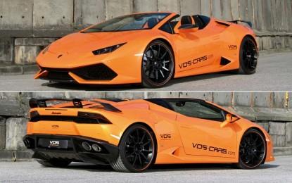 "Lamborghini Huracan Spyder sa upečatljivim ""karbonskim"" tretmanom kod Vision of Speed [Galerija]"