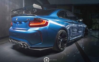 MTC Design pripremio za BMW M2 (F87) pet tuning dodataka za agresivniji izgled