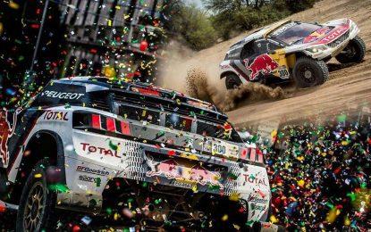 Peugeot Total – trostruki trijumf na Dakaru 2017