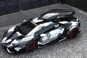 Na prodaju izuzetni Lamborghini Huracan za skijaše