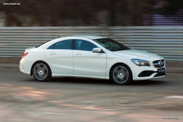 TEST – Mercedes-Benz CLA 200d 7G-DCT AMG Line (C117) MY 2017