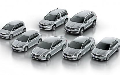 Škoda kupcima u 2016. godini isporučila rekordnih 1.127.700 vozila