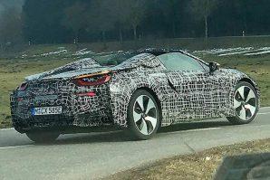 BMW i8 Spyder u razvoju