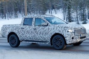 Mercedes X-Class – testovi na snijegu