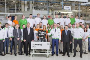 Škoda proizvela 13-millioniti motor u tvornici Mladá Boleslav i započinje proizvodnju novog 1.0 TSI motora
