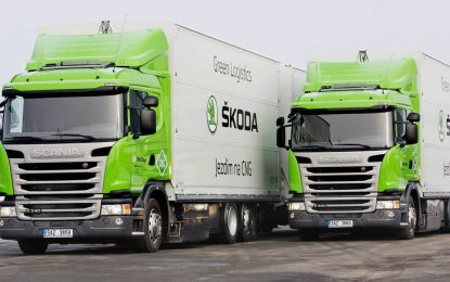 Škoda i Scania partneri u prevozu na plin