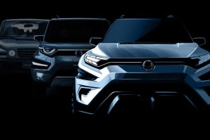 SsangYong eXciting Authentic Vehicle Long Concept