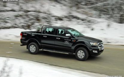 TEST – Ford Ranger Double Cab XLT 2.2 TDCi 160 KS AWD M6