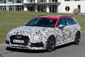 Audi RS4 Avant – fotografisana zamaskirana nova generacija [Galerija]
