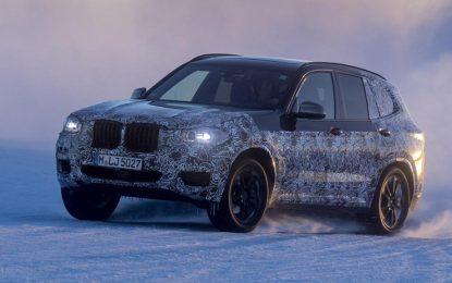 BMW X3 za 2018 u fazi testiranja [Video i Galerija]