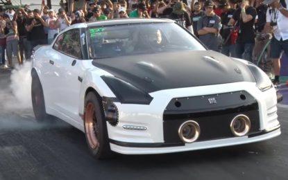 Stari Nissan GT-R prevezao 402 metra za manje od 7 sekundi