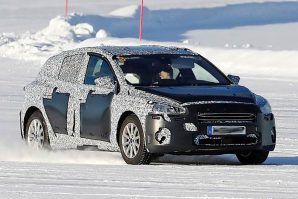 Budući Ford Focus – testovi na snijegu