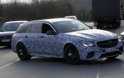 Mercedes-AMG E-Class All-Terrain – još uvijek u testnoj fazi