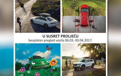 """Servisna akcija """"Proljetni servis"""" Postprodaje Porsche BH"""