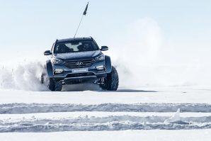 Hyundai Santa Fe pokorio Antarktik [Galerija i Video]