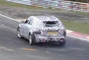 Jaguar XF Sportbrake – testovi na Nürburgringu [Video]