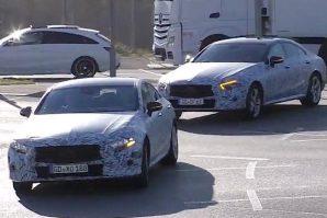 "Novi Mercedes-Benz CLS u koloni ""zamaskiranih"" Mercedesa [Video]"
