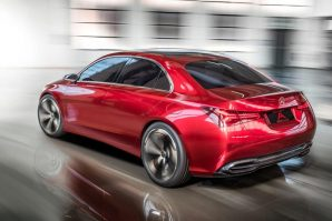 Mercedes-Benz Concept A Sedan za izložbu u Šangaju [Galerija]