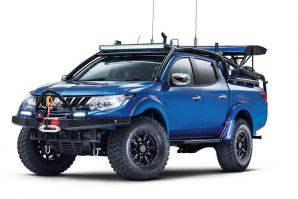 Mitsubishi L200 Special Vehicle Projects (SVP) – Desert Warrior
