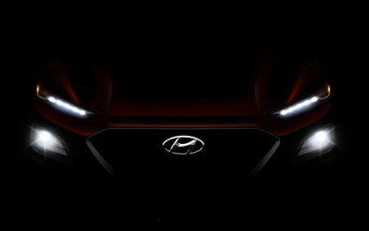 Hyundai Kona – novi teaser