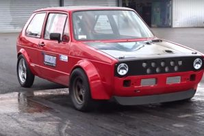 Novi britanski rekord na trci ubrzanja 402 metra ostvario Golf prve generacije – Vee-Dub VW Golf MK1 [Video]